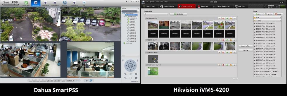 Manage Dahua And Hikvision With The Same Software – Desenhos Para