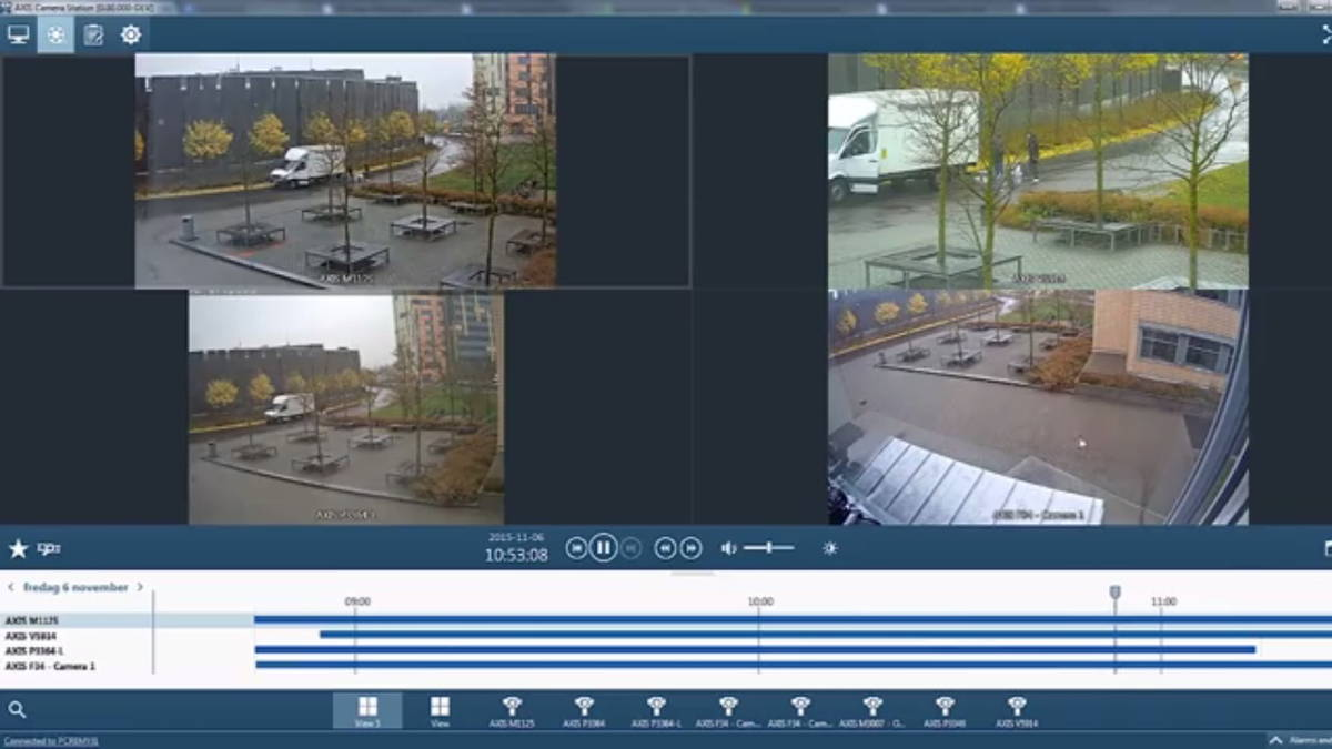 Axis Camera Station - A1 Security Cameras