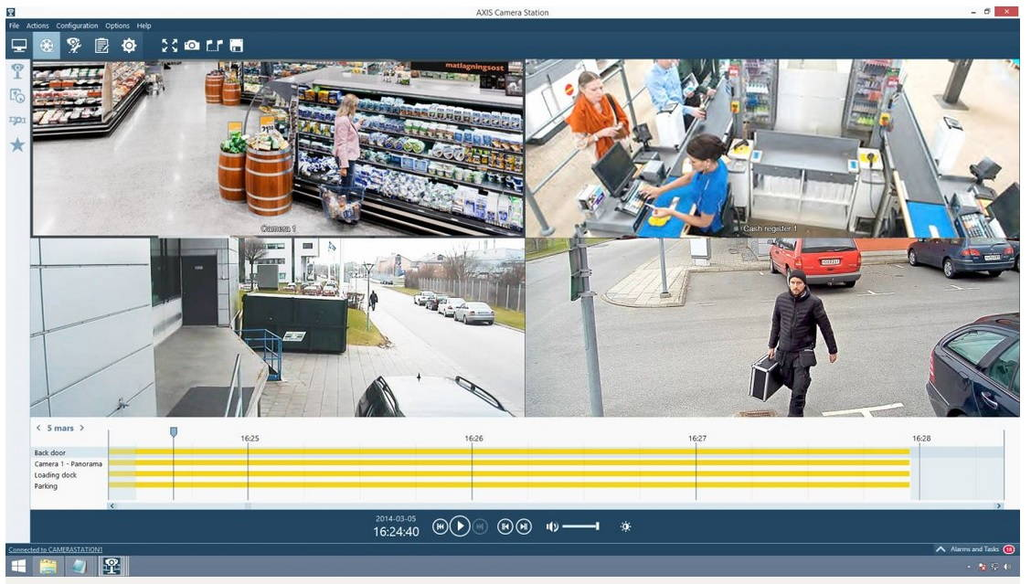 Axis Camera Station - A1 Security Cameras