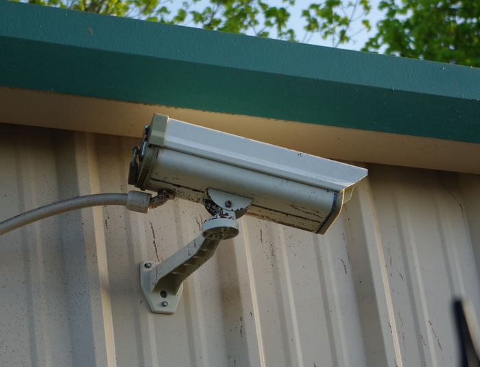 Fixed Outdoor Security Camera - Credit Goes to Wikipedia